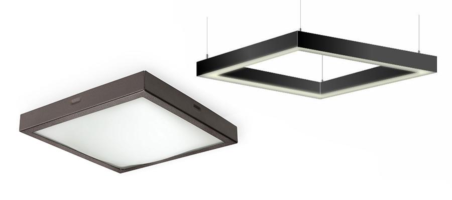 Световые светильники (светодиодные) на заказ - Поток технологии